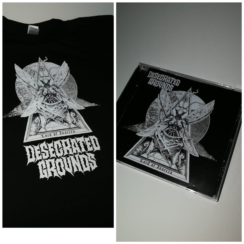 Image of Desecrated Grounds CD + T-shirt pack!