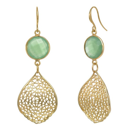 Image of LACEY LEAF EARRINGS