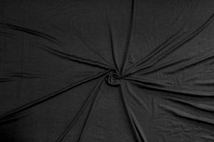 Image of Bamboo Spandex Solids - Black
