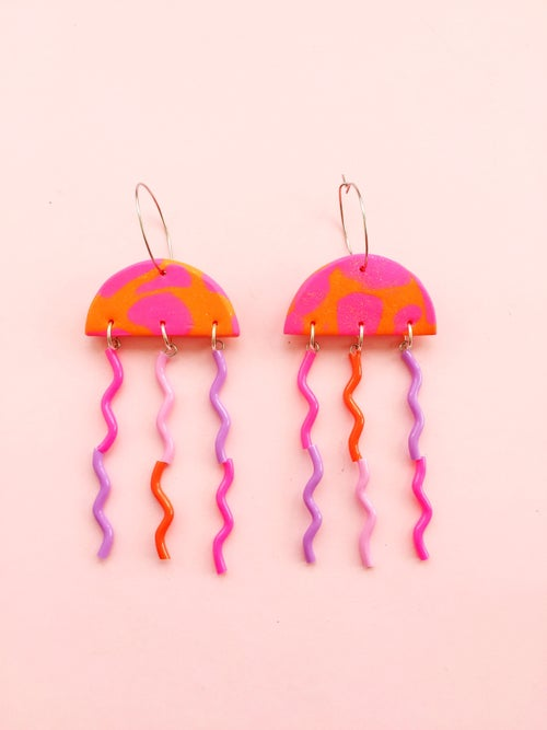 Image of Jellyfish earrings  - NEW RELEASE