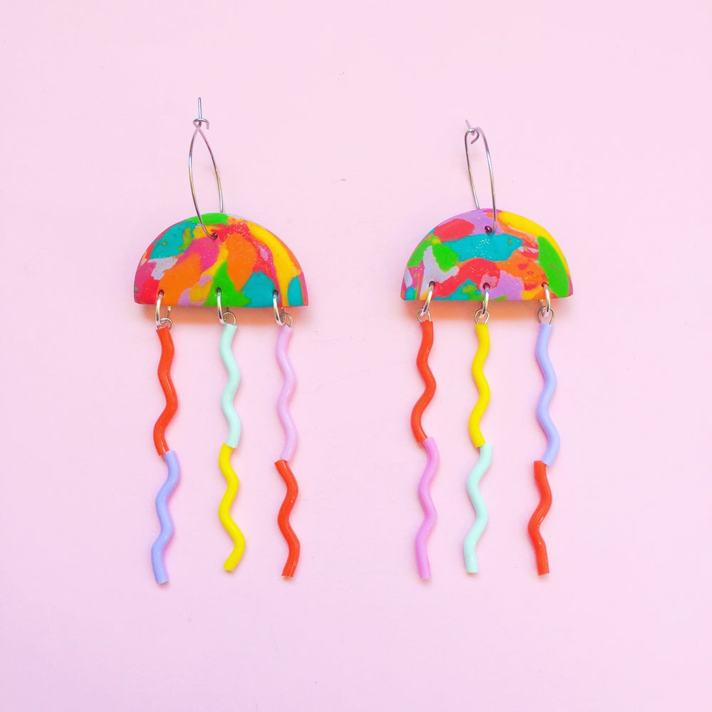 Image of NEW〰Rainbow jellyfish collection