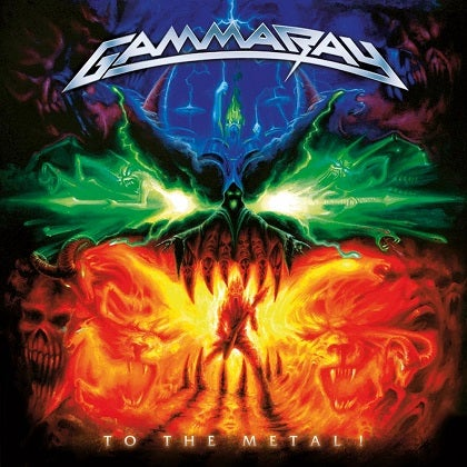 Image of GAMMA RAY - To The Metal - CD Cristal