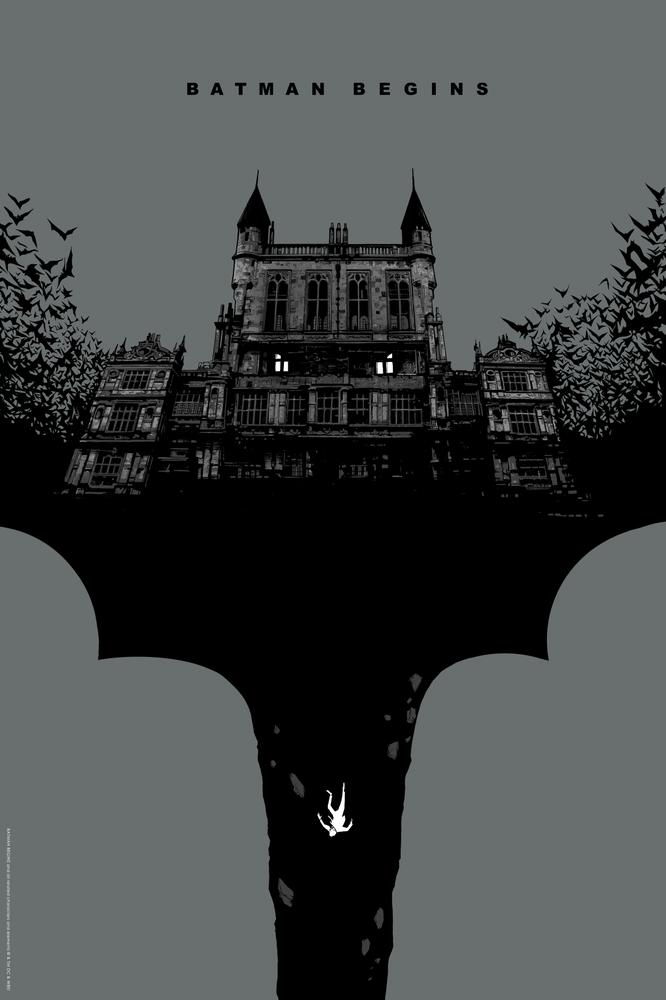 Image of BATMAN BEGINS: REGULAR EDITION