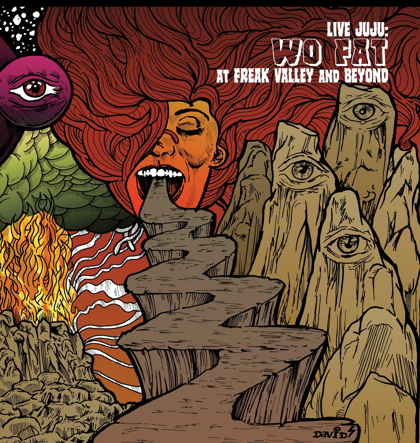 Image of Wo Fat - Live Juju: Freak Valley and Beyond CD