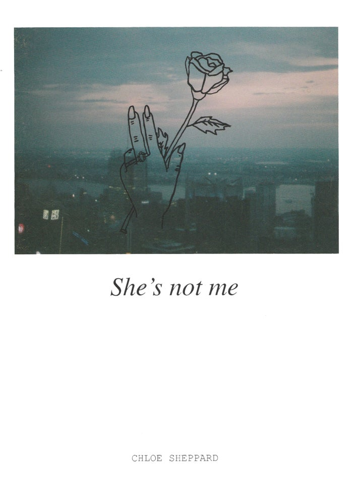 Image of 'She's Not Me' A5 Zine