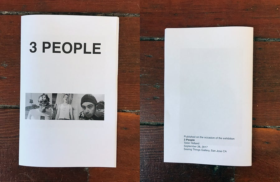 Image of Tobin Yelland 3 PEOPLE zine