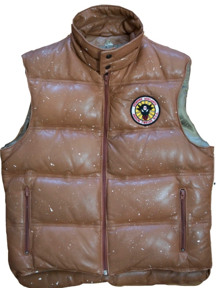 Image of LEATHER SCOUT VEST