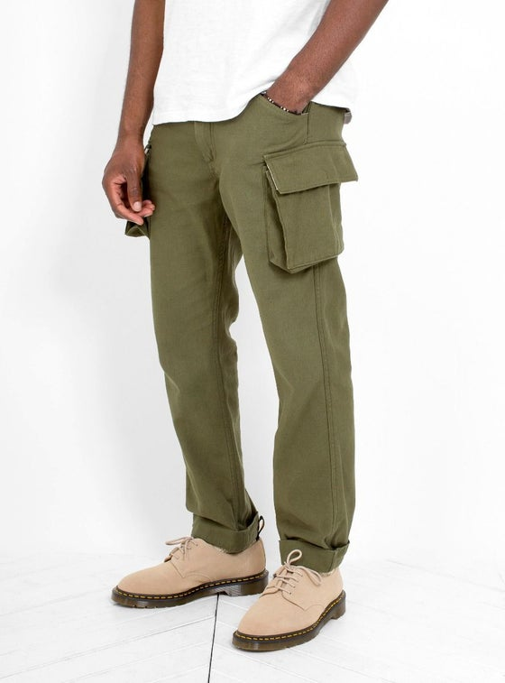 Image of Garbstore Wite Trouser Olive