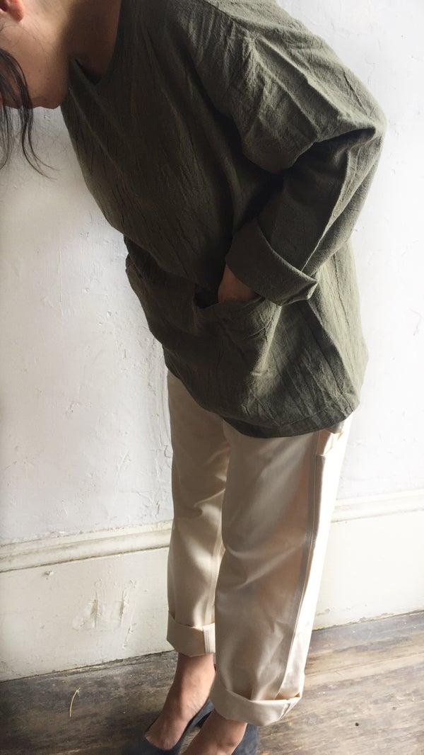 Image of Uzi Pocket Blouse