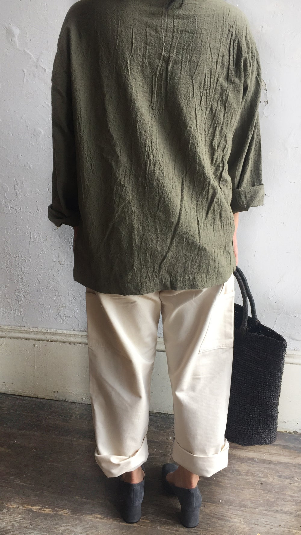 Image of Uzi Pocket Blouse