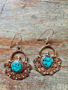 Image of Nepalese earrings #8