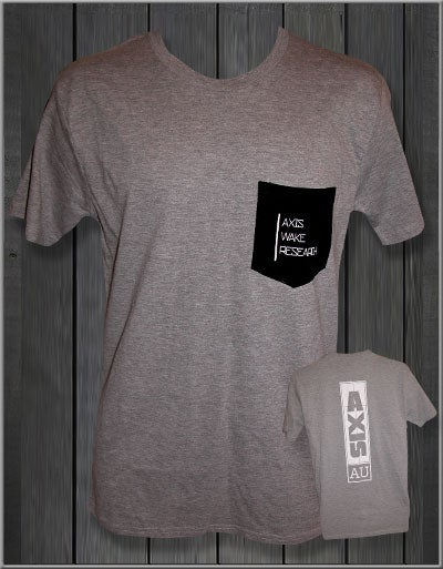 Image of Axis T-Shirt - Grey
