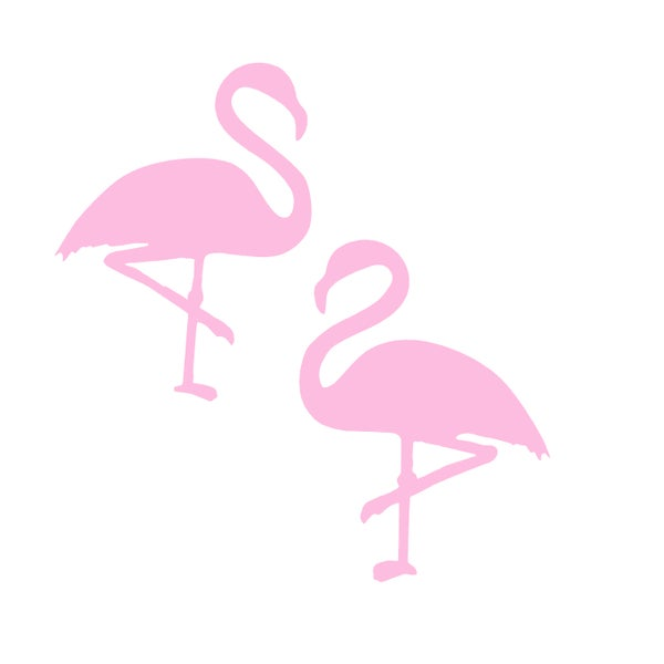 Tickled Pink Flamingo Stud Earrings - Black Heart Creatives