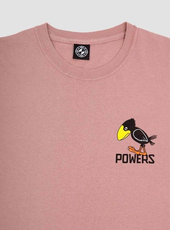 Image of Powers Sad Crow T-Shirt Mauve