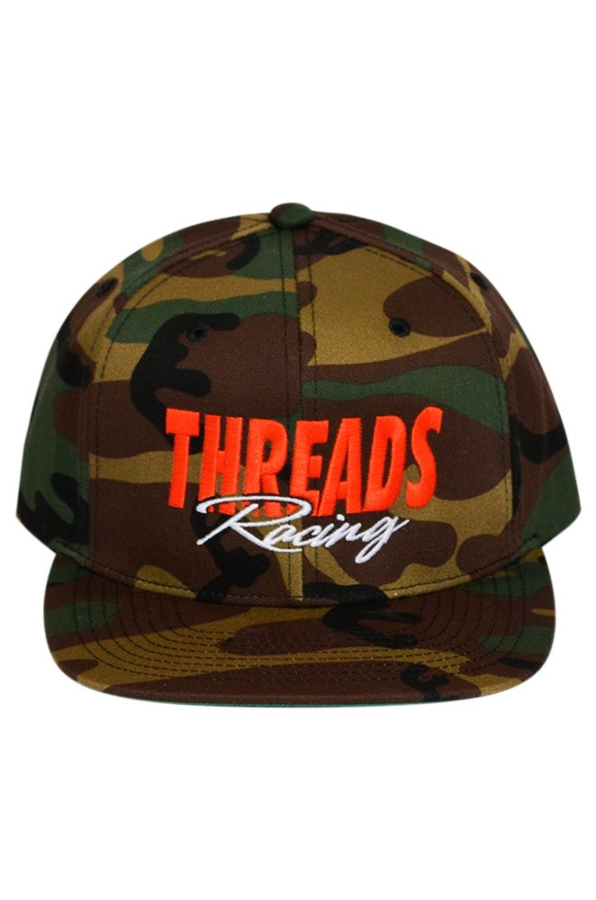 Image of THREADS Racing Camo Snap - Orange