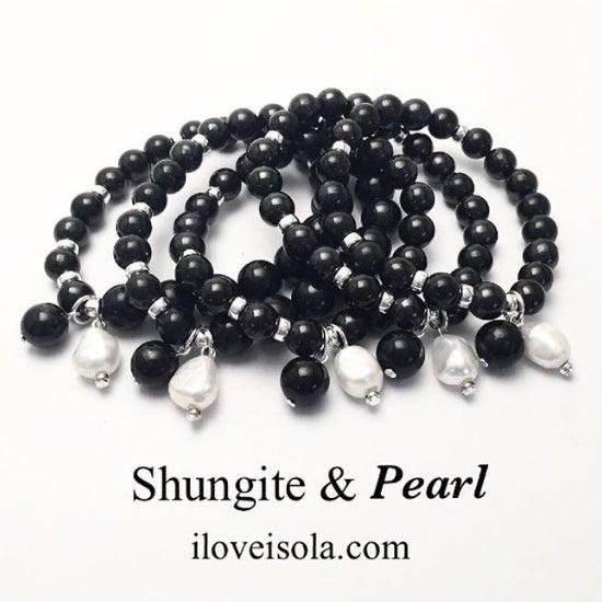 Image of New! Shungite & Pearl