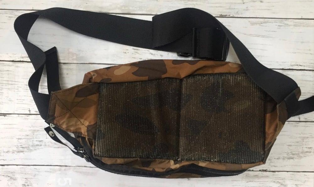Image of Bape Brown Camo Utility Waist Bag