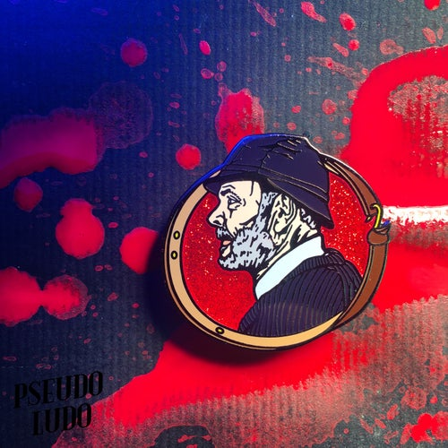 Image of Severin Hall of Fame #1: Lucio Fulci Pin