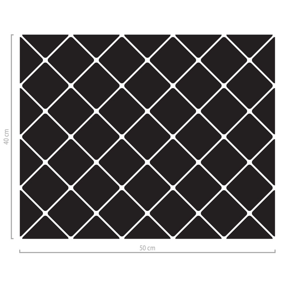 Image of Fensterfolie geometrisch vierecke