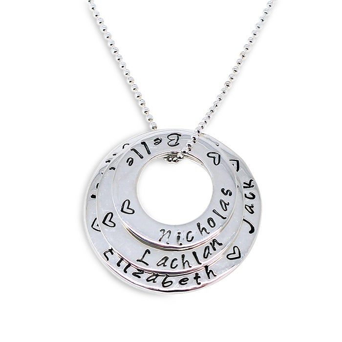 """Image of """"Circle of Love"""" Stack Necklace"""