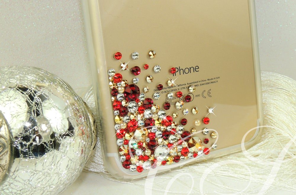 Image of CRYSTAL CASCADE 'Noel' FOR THE IPHONE AND SAMSUNG