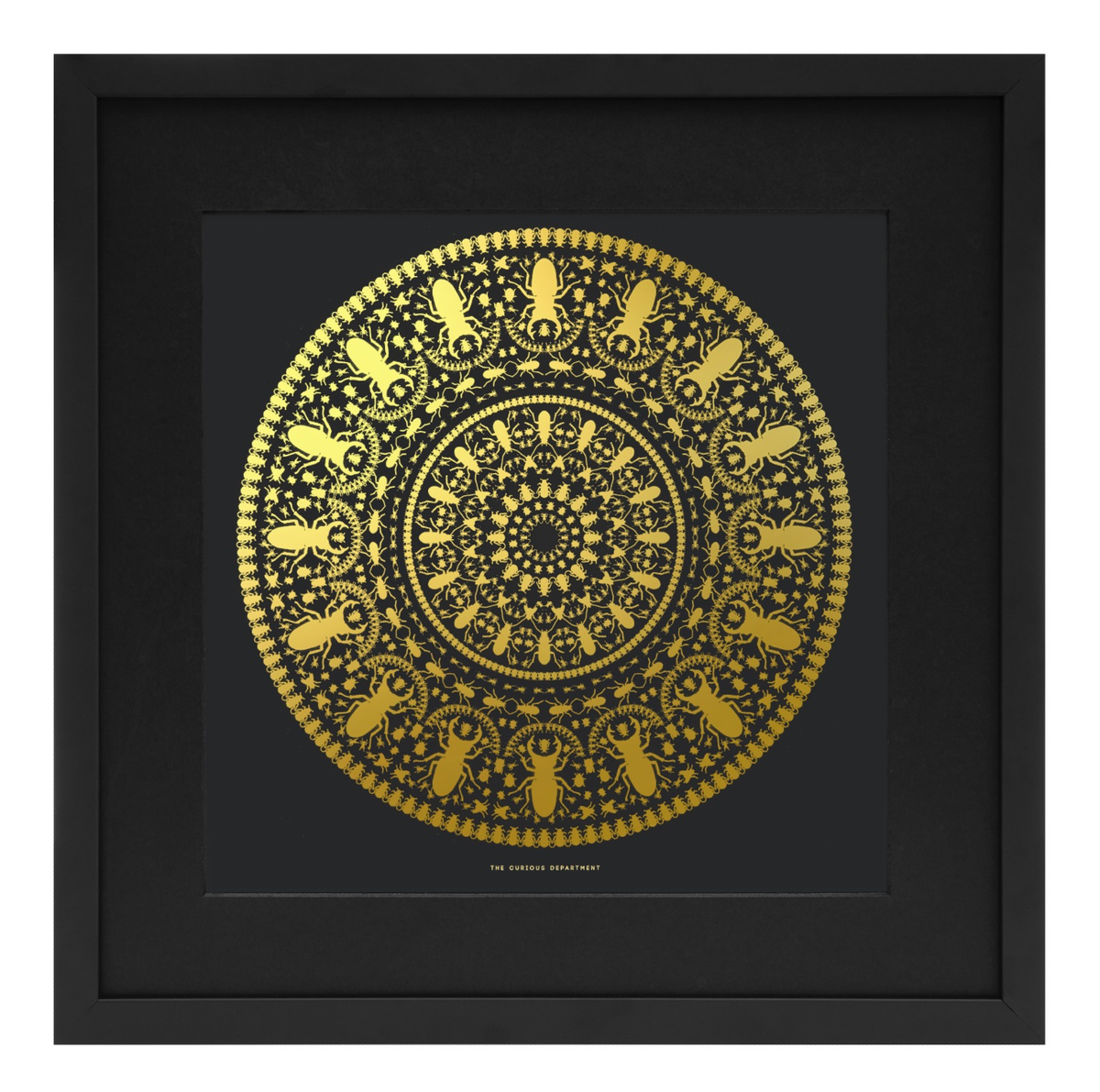 Image of insect mandala limited edition print