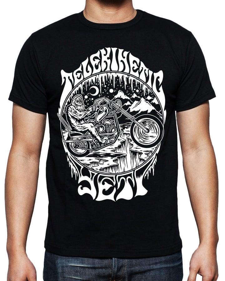 Image of Yeti Motorcycle T Shirt