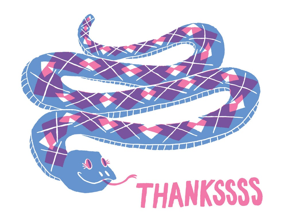 Image of Thankssss Card