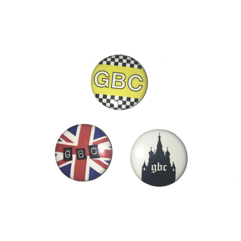 Image of GBC 'INTERNATIONAL' BUTTON SET