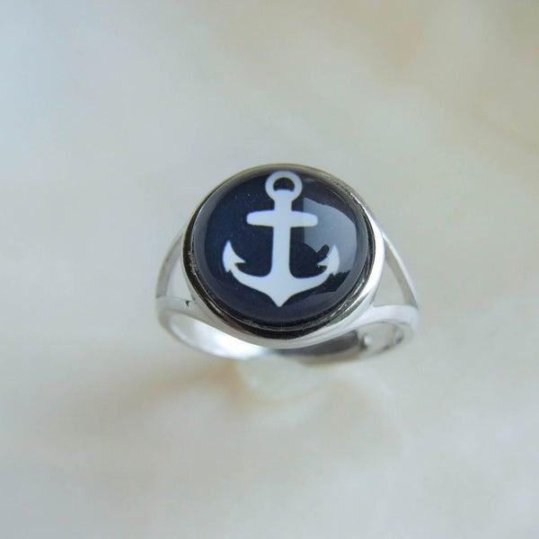 Image of Anchors Aweigh - Ring (Medium)