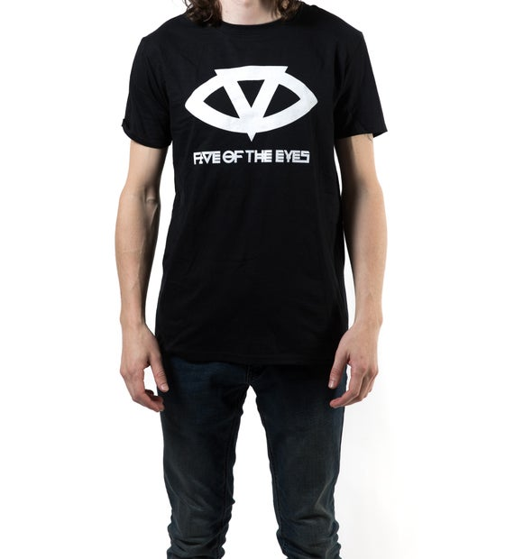 Image of MEGA chill Black Tee