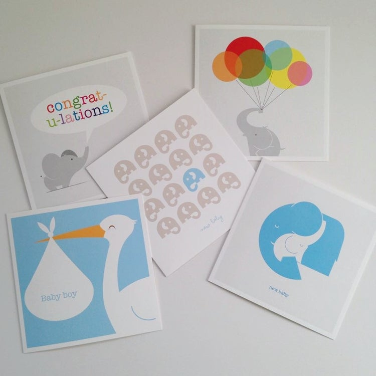 Image of Baby Cards - Boy Selection