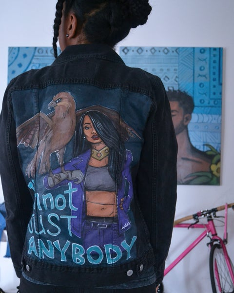 Image of Aaliyah Denim Jacket