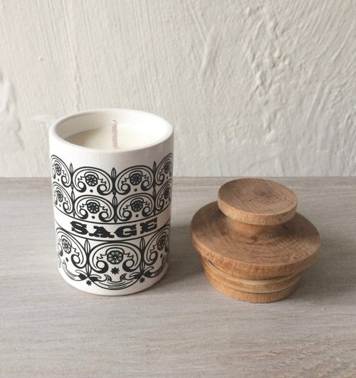 Image of Vintage Hornsea Scroll Scented Candles
