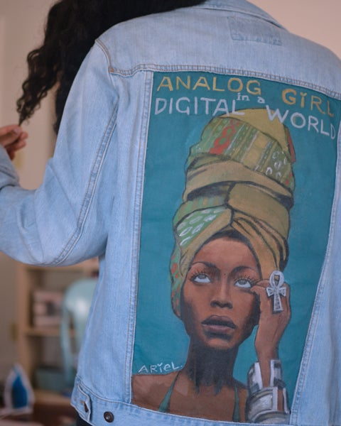 Image of Analog Girl Denim Jacket