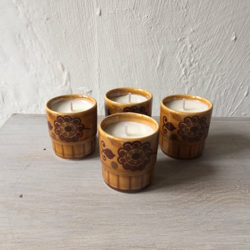 Image of Vintage Palissy Ceramic Scented Candles