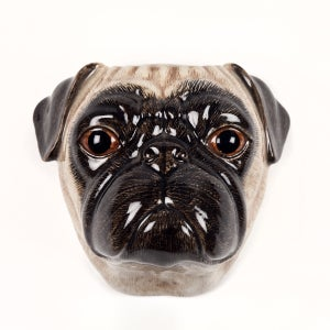 Image of FAWN PUG WALL VASE