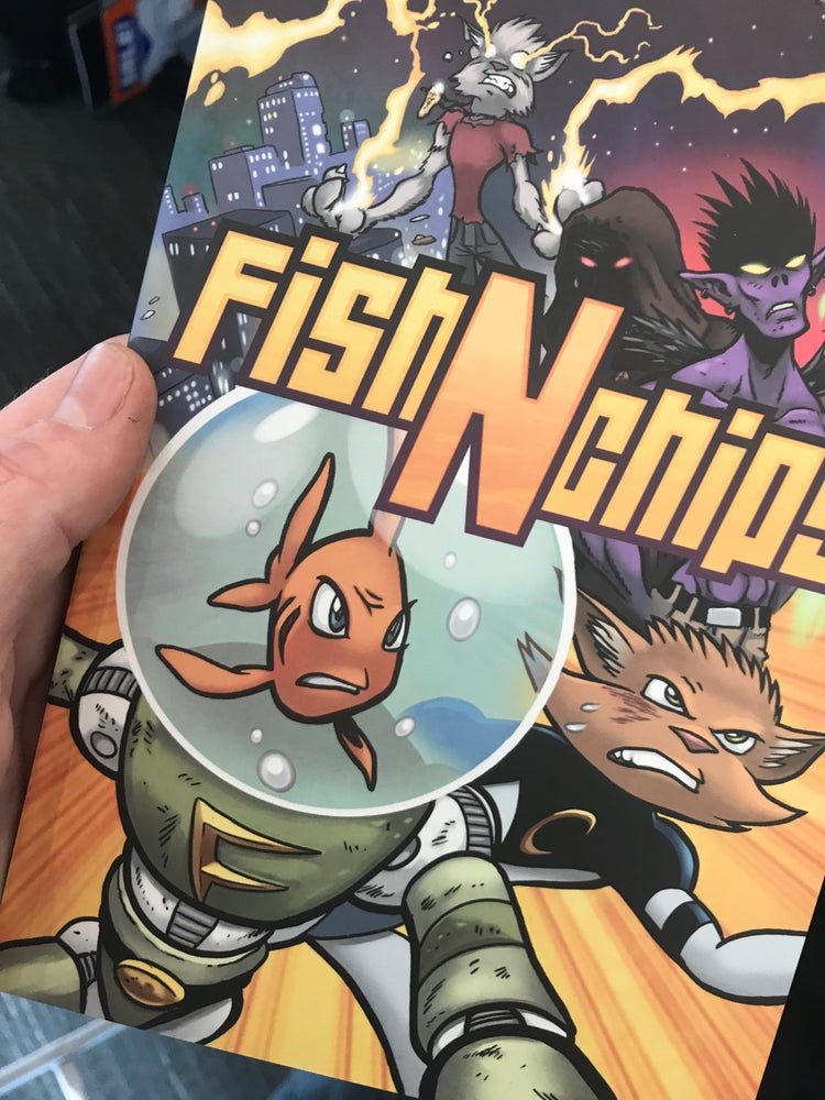 Image of FIsh N Chips Vol 1