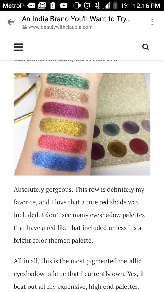 Image of Deluxe artist palette