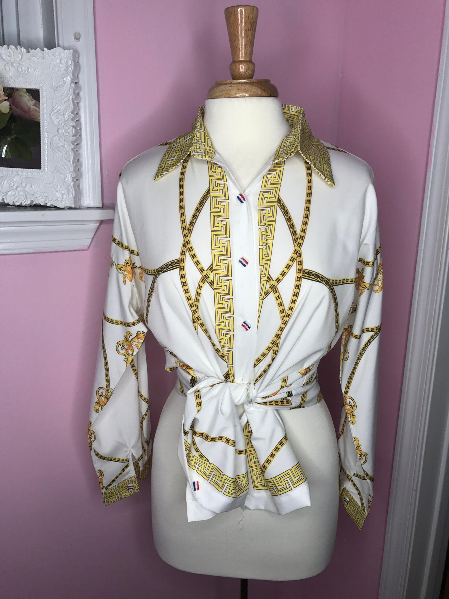 Image of Medusa Shirt Dress