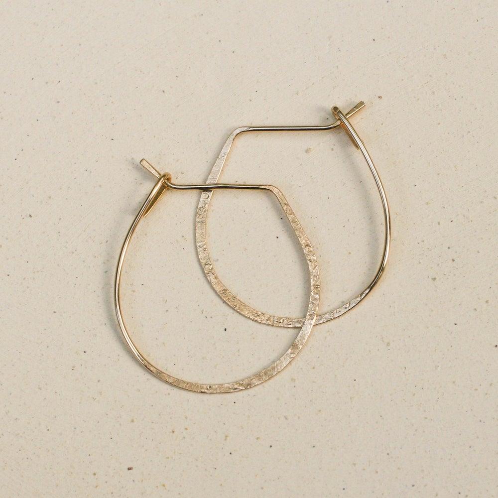 Image of Lucky Hoop Earrings