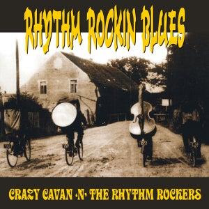 """Image of NEW! CRAZY CAVAN 'N' THE RHYTHM ROCKERS """"RHYTHM ROCKIN' BLUES"""" - 12 INCH VINYL LP - LIMITED EDITION"""