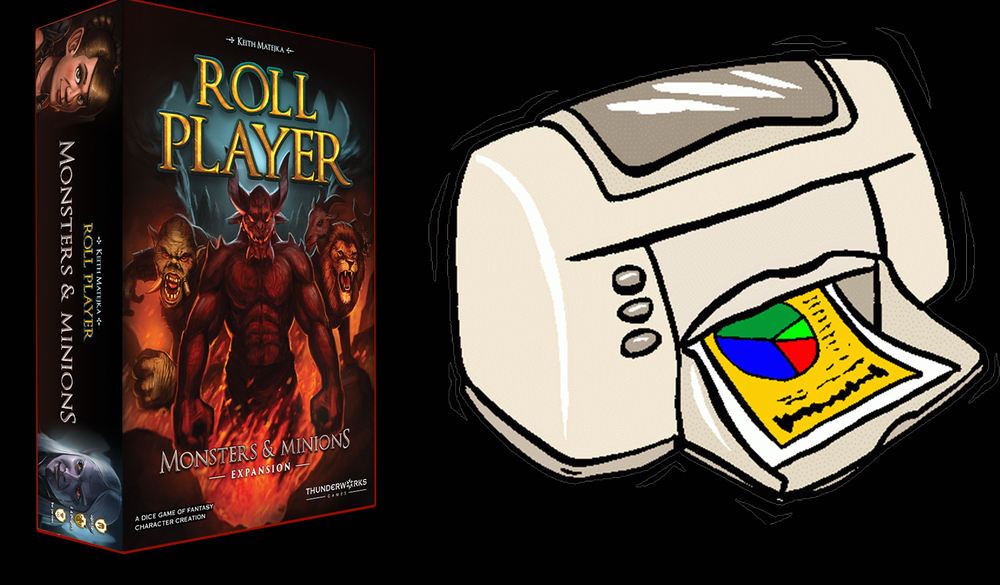 Image of Roll Player: Monsters & Minions Deluxe Print and Play Version