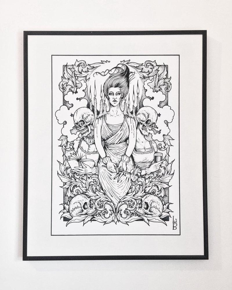 Image of 'No Fury' A3 print