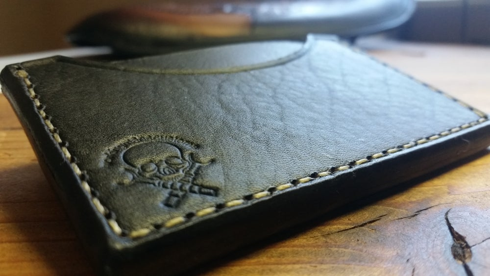 Image of Working Man's Customs Card wallet
