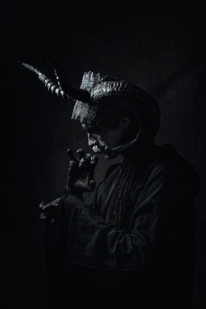 Image of UPON THE GOAT (HEADDRESS)