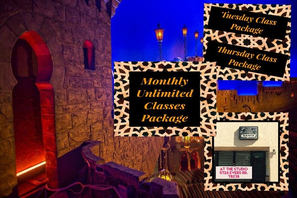 Image of Mystical Goddess Belly Dance Class Packages, At The Studio Dance Studio