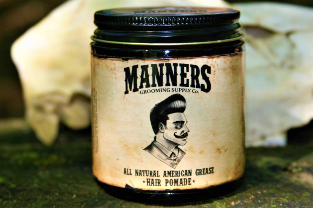 WAX-BASED POMADE (ALL-NATURAL)