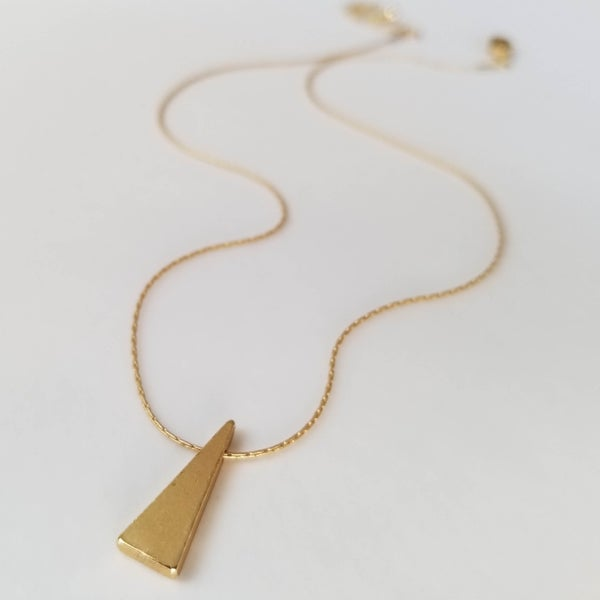 Image of Simple Geometric - Gold Triangle