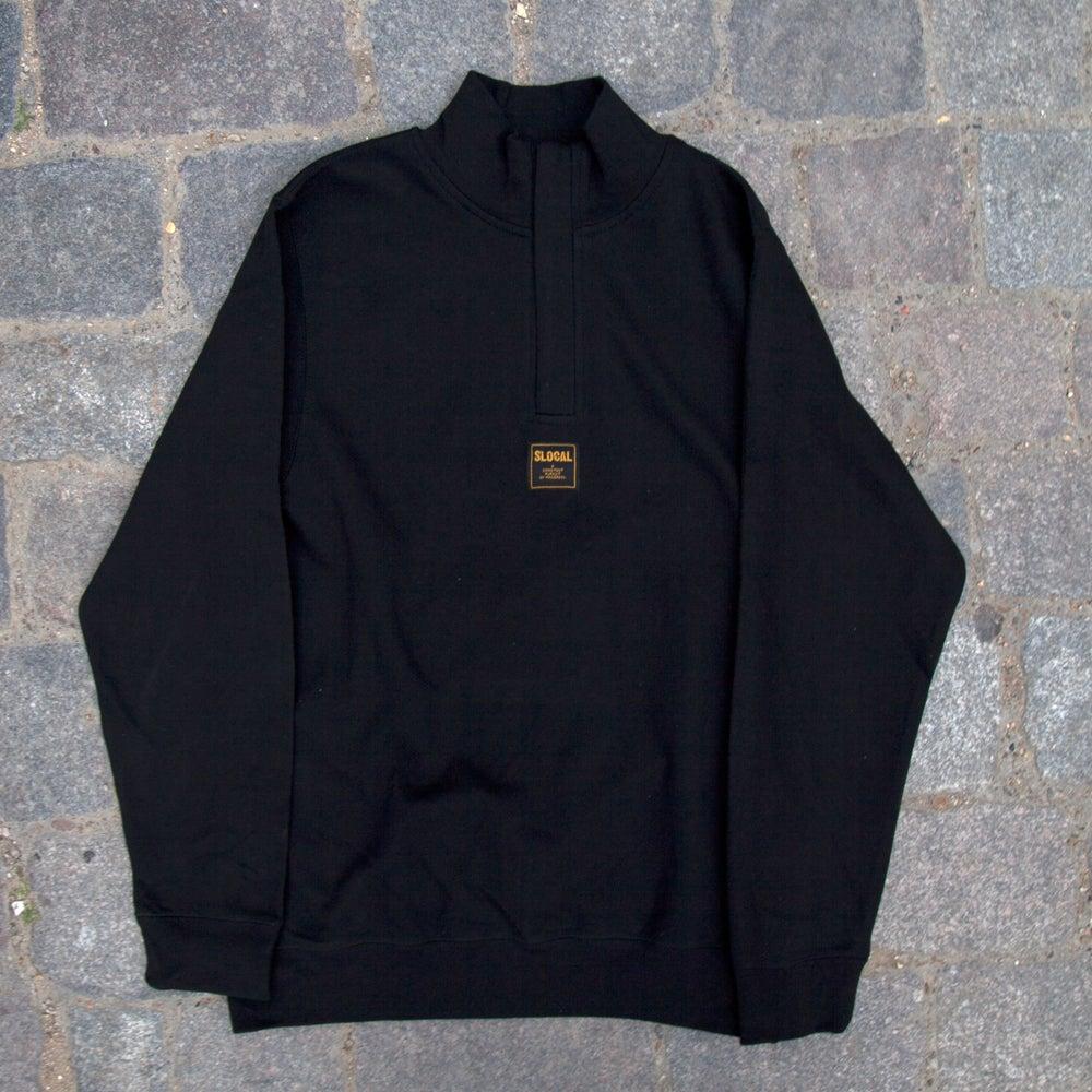 Image of SLOCAL 1/4 ZIP - Black